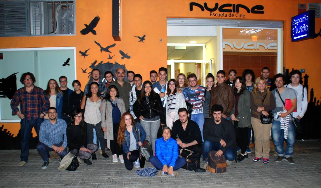 Estudiantes de Nucine Escuela de Cine de Valencia
